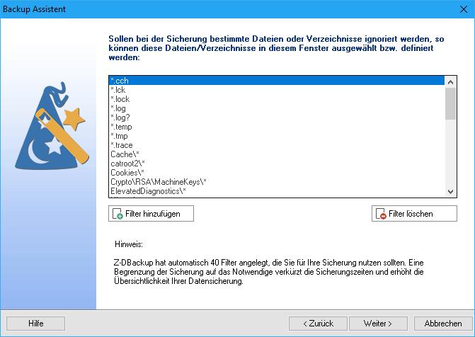 Z-DBackup Assistent 3