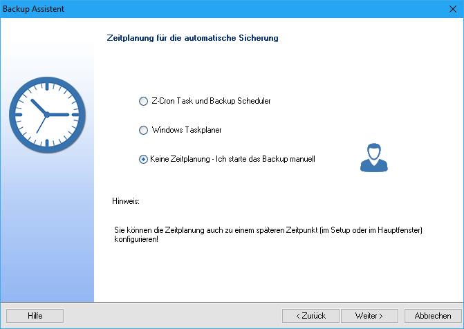 Z-DBackup Assistent 8