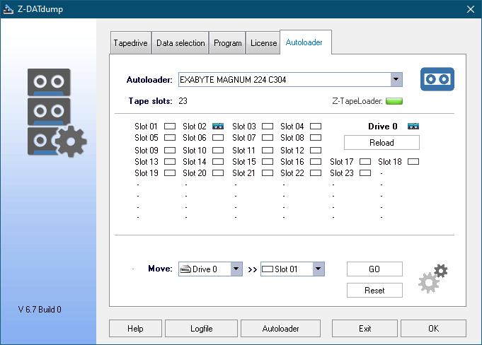 Autoloader Settings