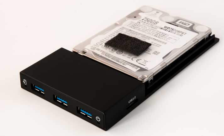 External USB HDD