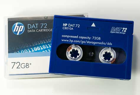 HP DAT 72
