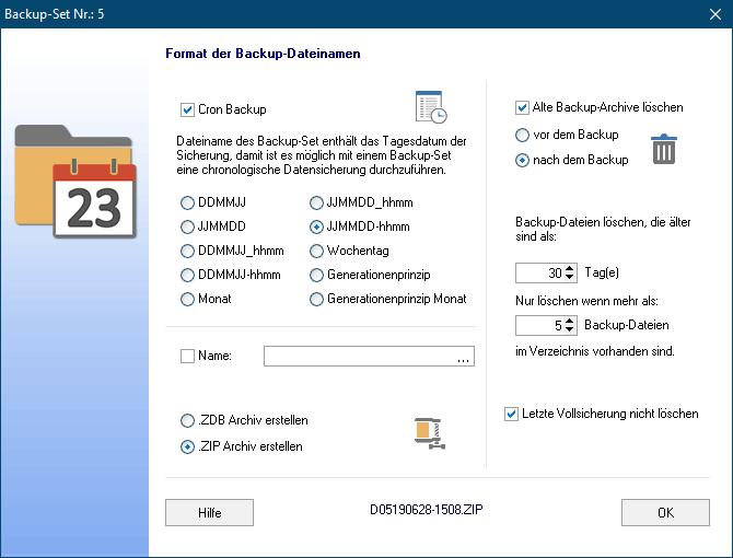 Versions-Backup