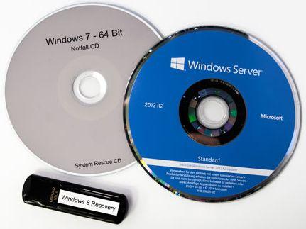 Windows Recovery CD & USB Stick