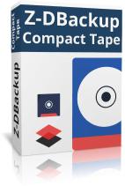 Z-DBackup Compact Tape Boxshot