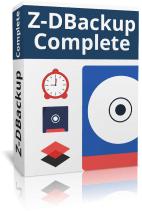 Z-DBackup Complete Boxshot