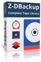Z-DBackup Complete Tape Library Boxshot