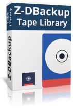 Z-DBackup Server Tape Library Boxshot