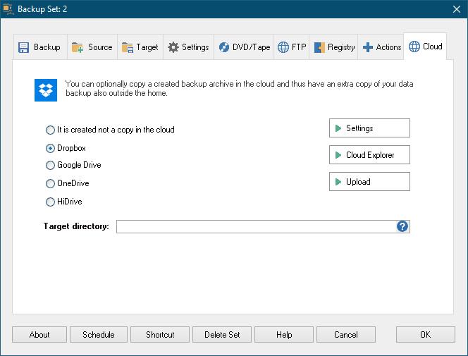 Z-DBackup Screenshot 10